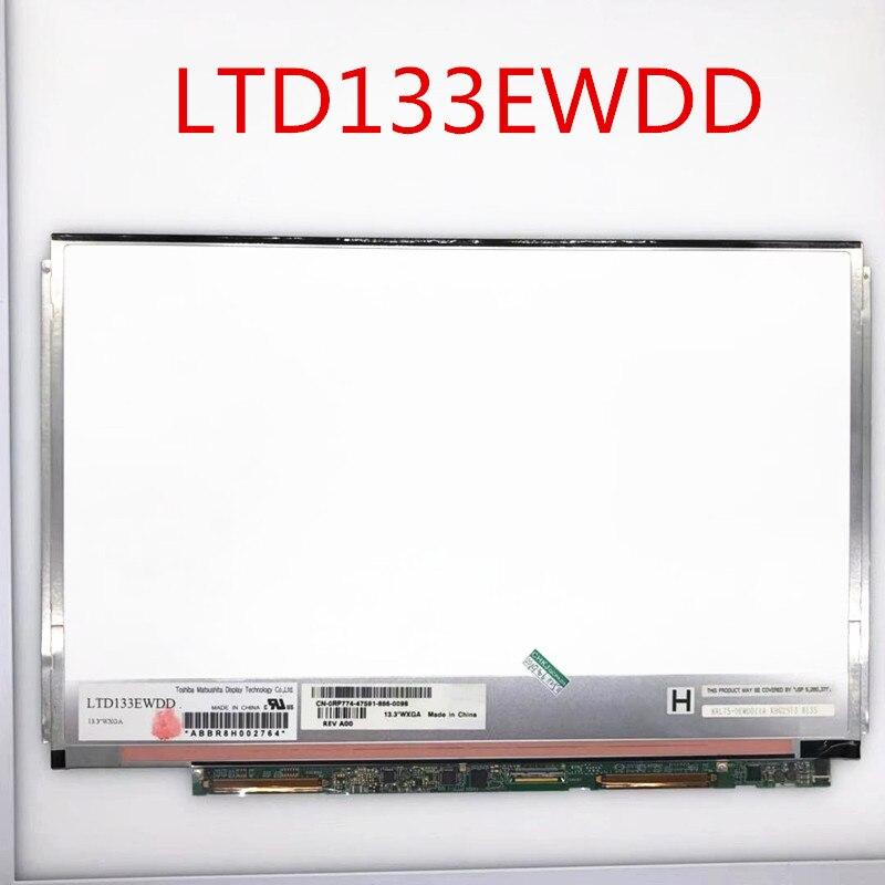 N133I5-L01 LTD133EWDD LP133WX2 TLA2 N133I6-L0A WXGA لديل XPS M1330 1340 كمبيوتر محمول شاشة LED Lcd مصفوفة