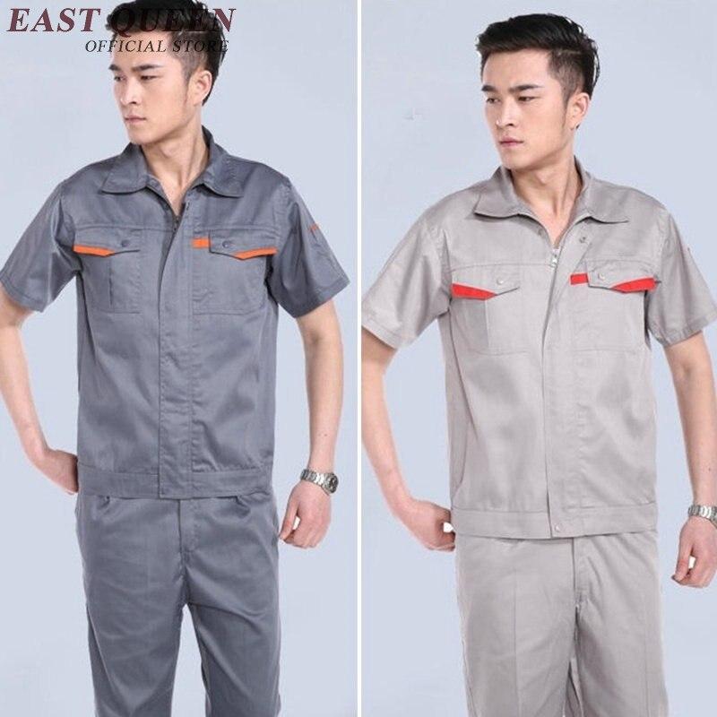 Ropa de Trabajo uniforme ropa de trabajo para hombres mecánico uniforme de trabajo de ingeniería de taller técnico ropa NN0381