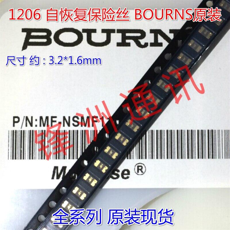 1206 SMD auto-recuperação fusível 50MA 0.05A 60 V FSM005-1206