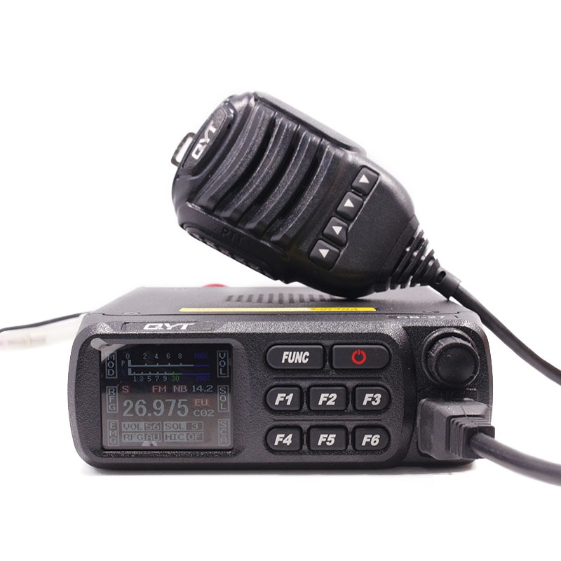 Radio 26.965-27.405MHz AM/FM 12/24V 4 Watts LCD Screen Shortware Citizen Band Multi-Norms CB Mobile Radio enlarge