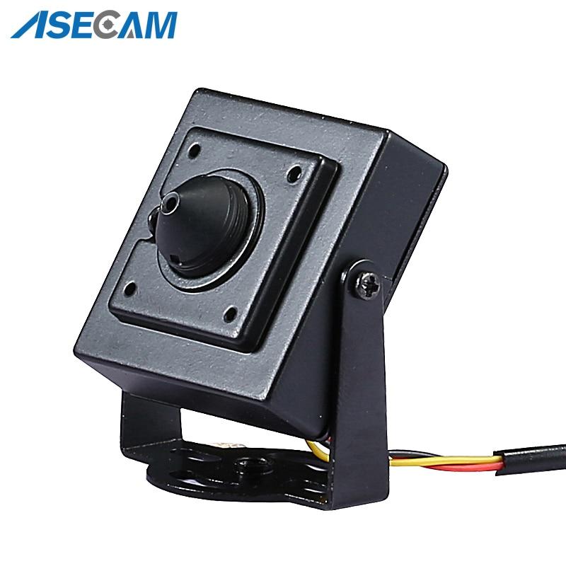 Новый супер HD AHD 3MP Starlight мини CCTV видеонаблюдение маленькая Антивандальная черная металлическая квадратная камера безопасности 3,7 мм объект...
