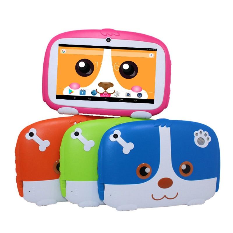 "Glavey 7 ""AllWinner A33 1024*600 píxeles 718 niños Tablet PC Android 6,0 Wifi 512MB/1GB + 8GB Quad core de tablet"