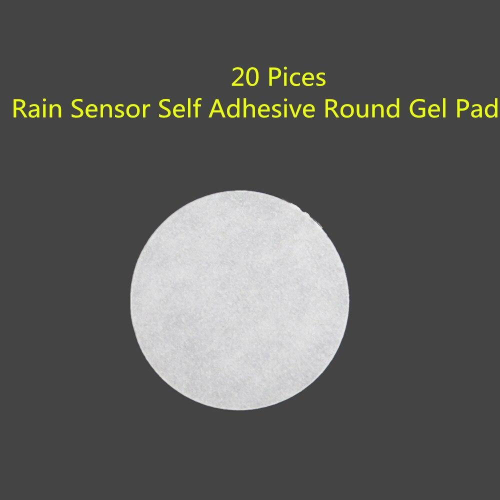 20P frente parabrisas para lluvia de coche de vidrio pegatinas de pegamento adhesivo redondo Gel Pad ajuste F02 F25 F01 F11 F25 A3 S3 A4 A6 Q3 Q5