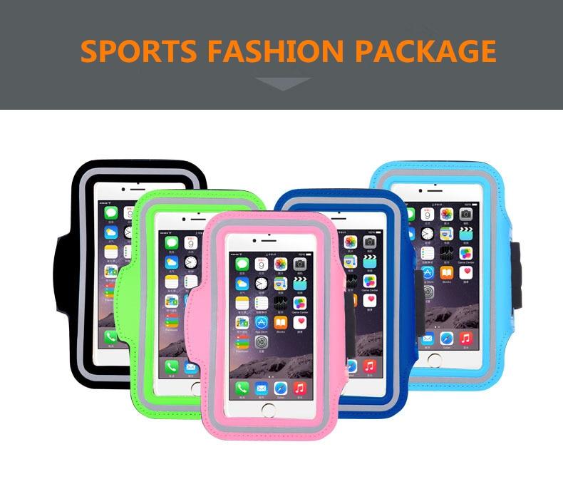 Para Motorola Moto G3 G 3rd Gen G 2nd Gen G2 G DVX XT1032 impermeable deportes brazalete todo modelo gimnasio Running funda de teléfono