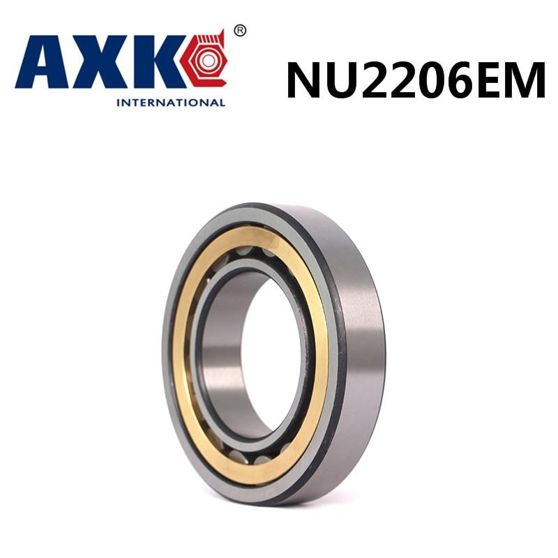 Axk Bearing Nu2206em Cylindrical Roller Bearing 30*62*20mm