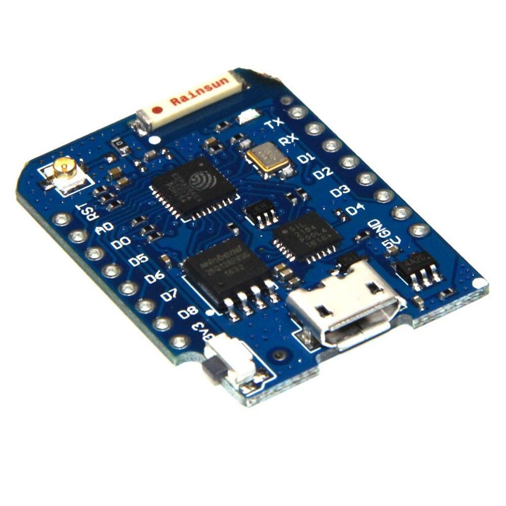 D1 Mini Pro 16M octets connecteur dantenne externe NodeMCU ESP8266 ESP-8266EX CP2104 carte de développement WIFI Micro USB