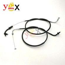 Moto Push & Pull câble daccélérateur ligne fils pour YAMAHA Dragstar Vstar 650 XVS650 XVS650A XVS650AT v-star DS 400 650 1998-2014