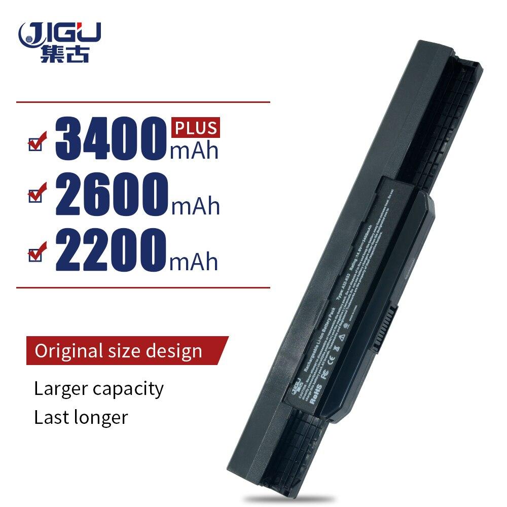 JIGU Laptop Battery K53X30TK K53XI231SC For ASUS A31-K53 A42-K53 A43EI241SV-SL A53 X54C X53E Series K42JY X84HY A54 PRO8G