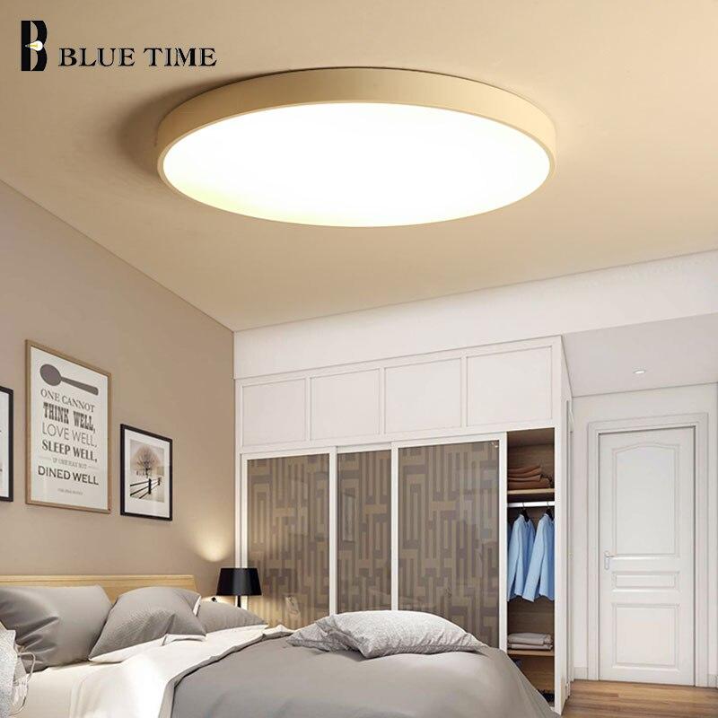 Модные домашние светодиодные потолочные светильники для спальни, гостиной, столовой, кухни, современные светодиодные потолочные светильни...