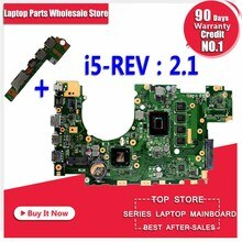 Envoyer la carte mère + X402CA carte mère i5-REV 2.1 pour ASUS X402CA X502C X502CA carte mère dordinateur portable X402CA carte mère X402CA