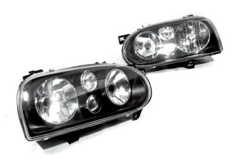 MK4 Style Smoke Head Light for Golf MK3