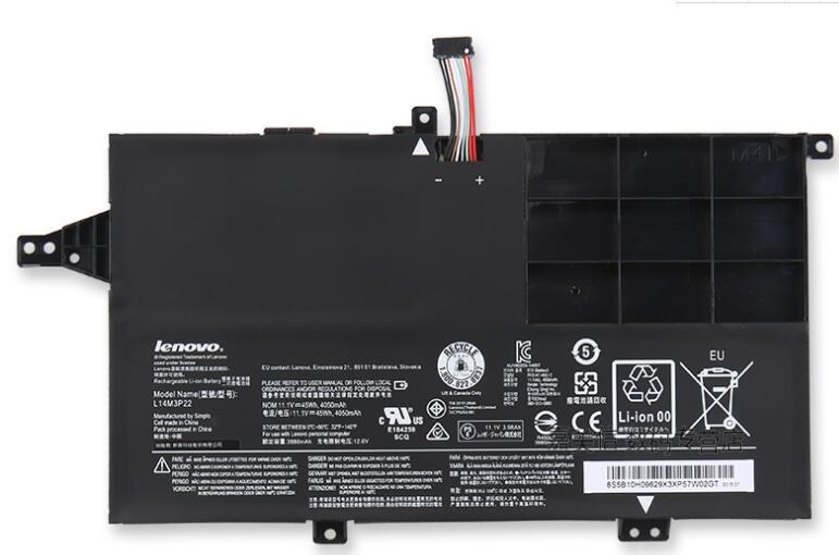 Nueva batería genuina para LENOVO M41-70 M41-80 K41-70 K41-80 L14M3P22 L14S3P21 11,5 V 45WH