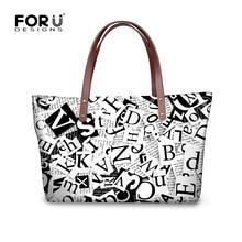 FORUDESIGNS Mode Vrouwen Messenger Bags Unieke Krant Printing Schoudertassen Voor dames Strand Crossbody Tassen Bolsa Feminina