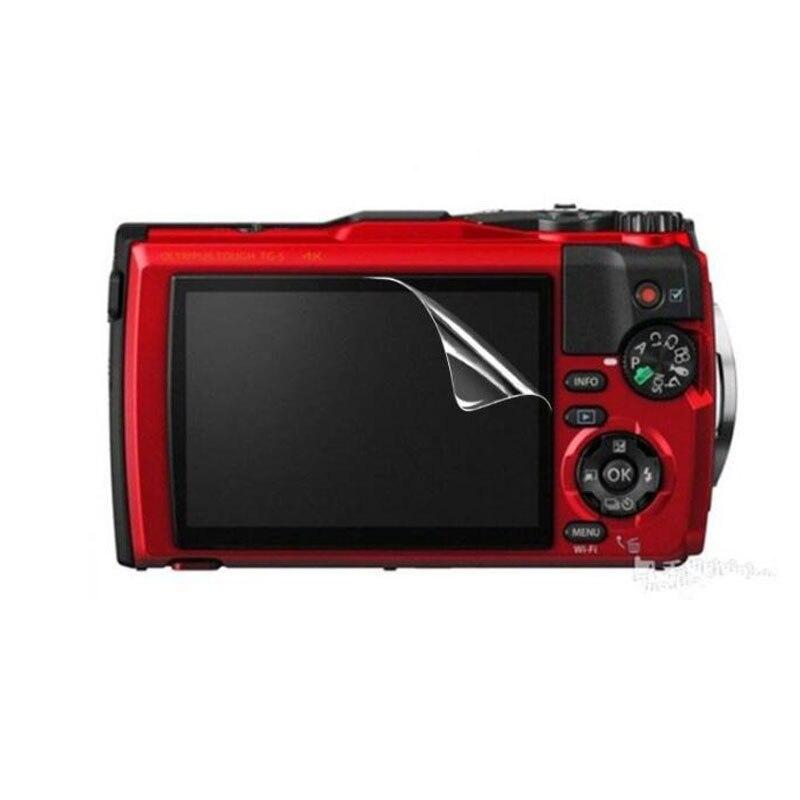 3 x Clear suave funda protectora de pantalla LCD para Olympus Tough TG3 TG-3 TG-4 TG4 TG5 TG-5 TG-6 TG6 película protectora para cámara