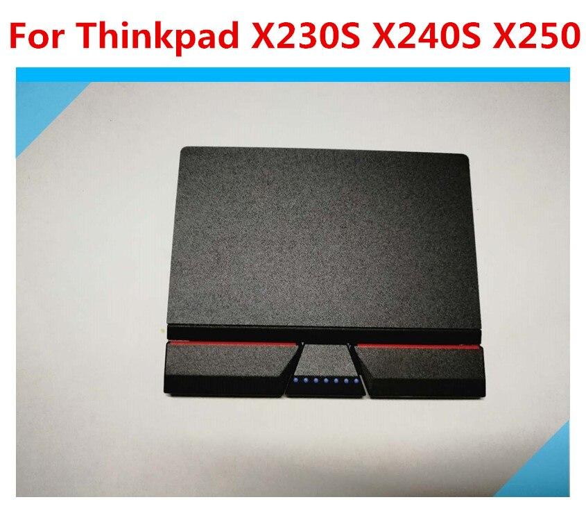 Teclado táctil Original de tres botones para Lenovo Thinkpad X230S X240 X240S X250 Series X260