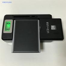 Aeg ax700 듀얼 sim 배터리 + yiboyuan SS-8 범용 충전기 용 aeg ax700 용 3.7 v 1700 mah