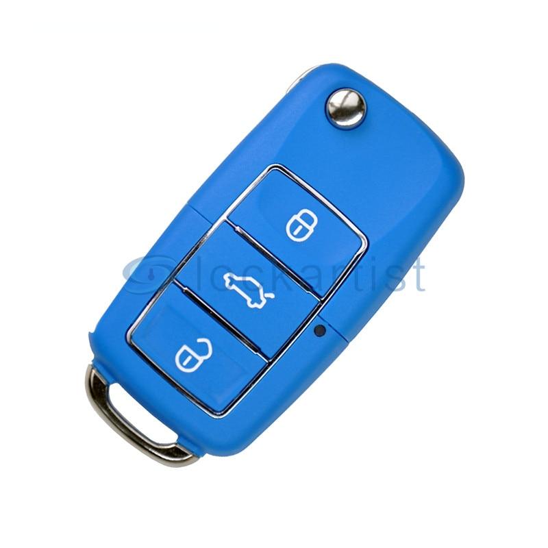 Keydiy KDB01 3 Buttons Luxury Blue Universal Remote Control Remote Key for KD900/KD900+ URG200 KD MINI KD X2  for Honda Vehicles