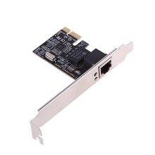 Chipset de carte réseau de haute qualité RTL8111E adaptateur de carte réseau PCI-E Gigabit Ethernet PCI-E pour poste de travail de bureau Sever