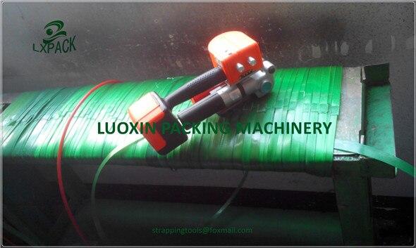 LX-PACK بطارية كهربائية باندر أداة قوية ل PET PP البلاستيك حزام مجهزة أحدث تكنولوجيا البطارية 13-19 مللي متر/19-25 مللي متر