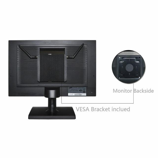 QOTOM IPC Micro PC Fanless Q575P Celeron AES-NI 4 COM GPIO WIFI for home/office/bank Desktop Computer 8
