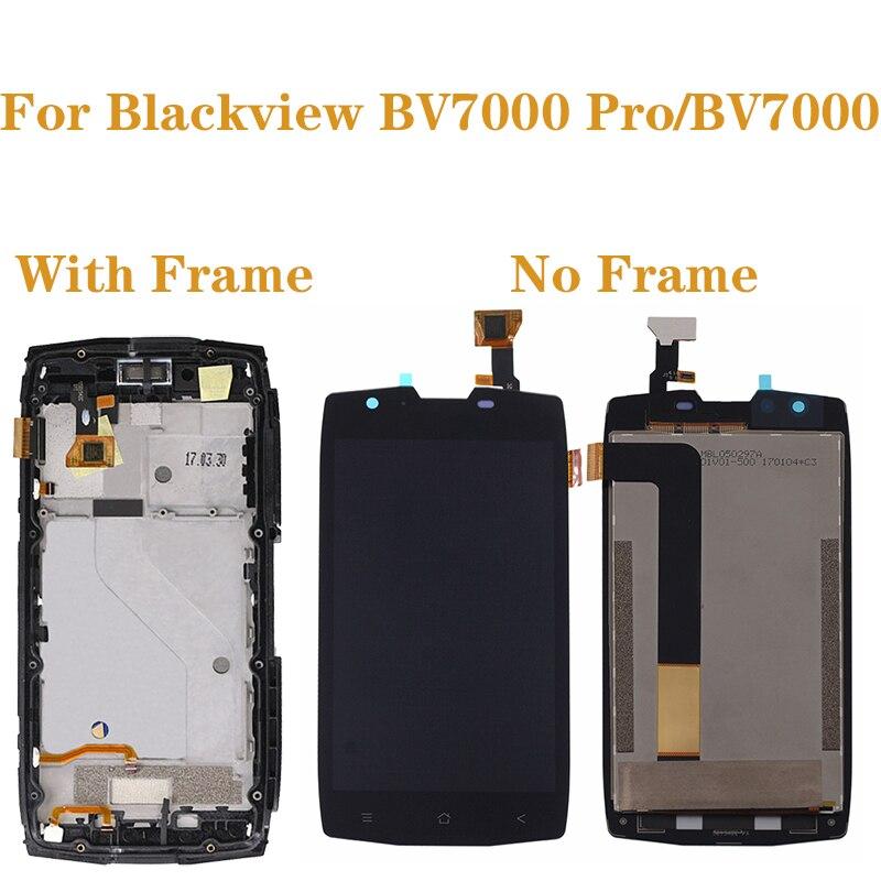 """5,0 """"para Blackview BV7000 LCD + Digitalizador de pantalla táctil Kit para Blackview BV7000 Pro BV 7000 pantalla LCD accesorios del teléfono + herramientas"""