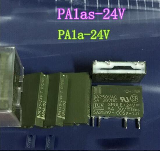 حار جديد تتابع PA1a-24VDC PA1a 24VDC DC24V 24V DIP4 20 قطعة/الوحدة