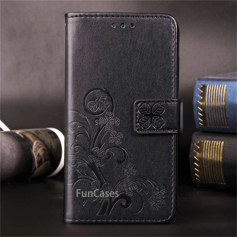 Para Sony Xperia L3 funda Sony L3 funda Flip Wallet funda de...