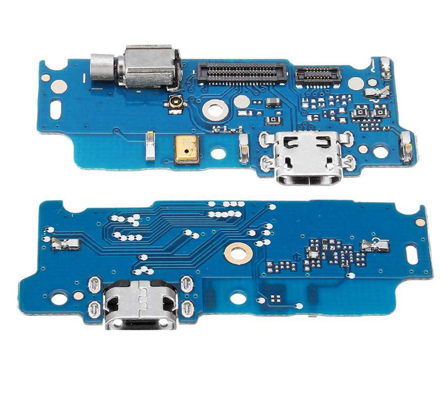 10 unids/lote, para Motorola MOTO E4 XT1762 XT1772 y E4 PLUS Puerto conector de carga USB enchufe dock flex cable pequeño cargador