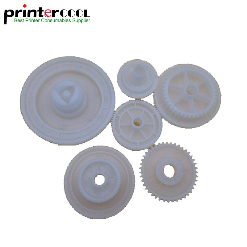 1 Juego de engranaje del Motor del conductor del fusor de einkshop para HP LaserJet 5200 5200LX, piezas de la impresora de la copiadora, engranaje del Motor de accionamiento