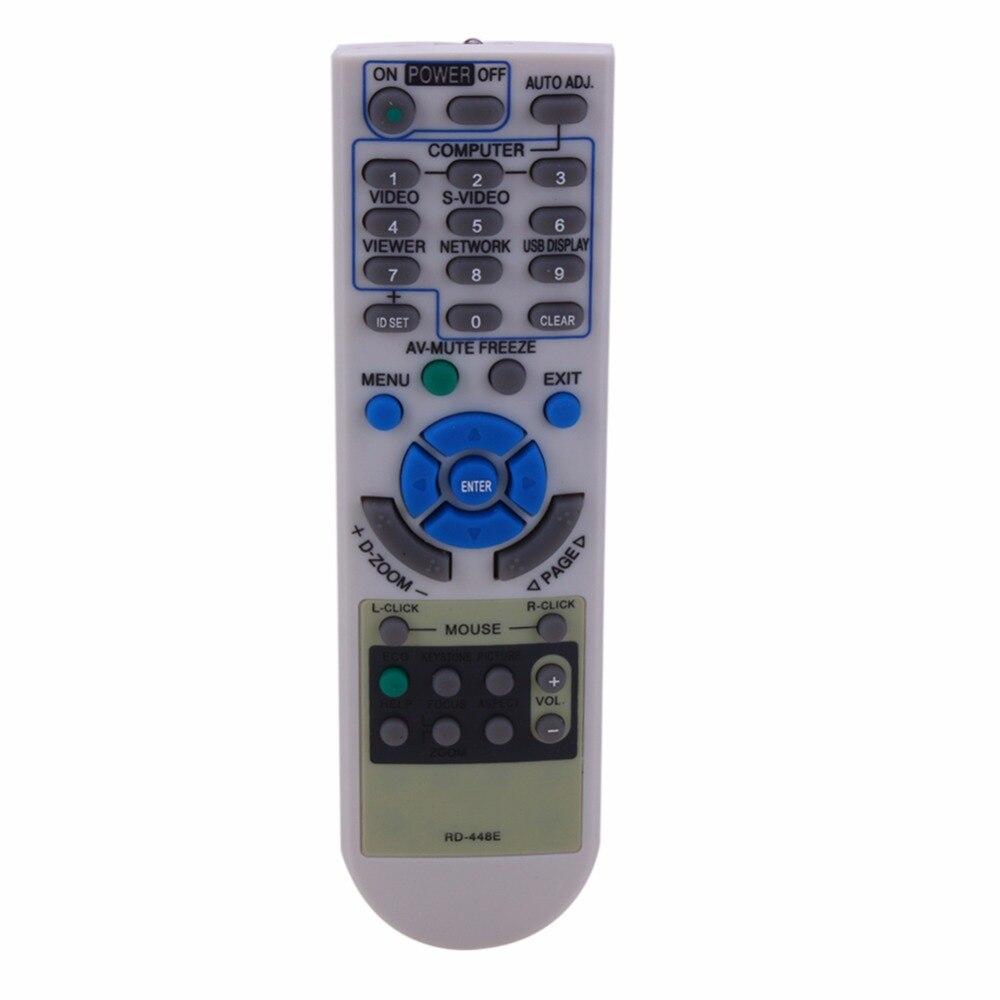 Пульт дистанционного управления, подходит для проекторов NEC, RD-448E, V260X + V300X + V260, RD-443E, LT180 + LT280, LT380, M230, RD-450C, M260XC, VT, LT, NP