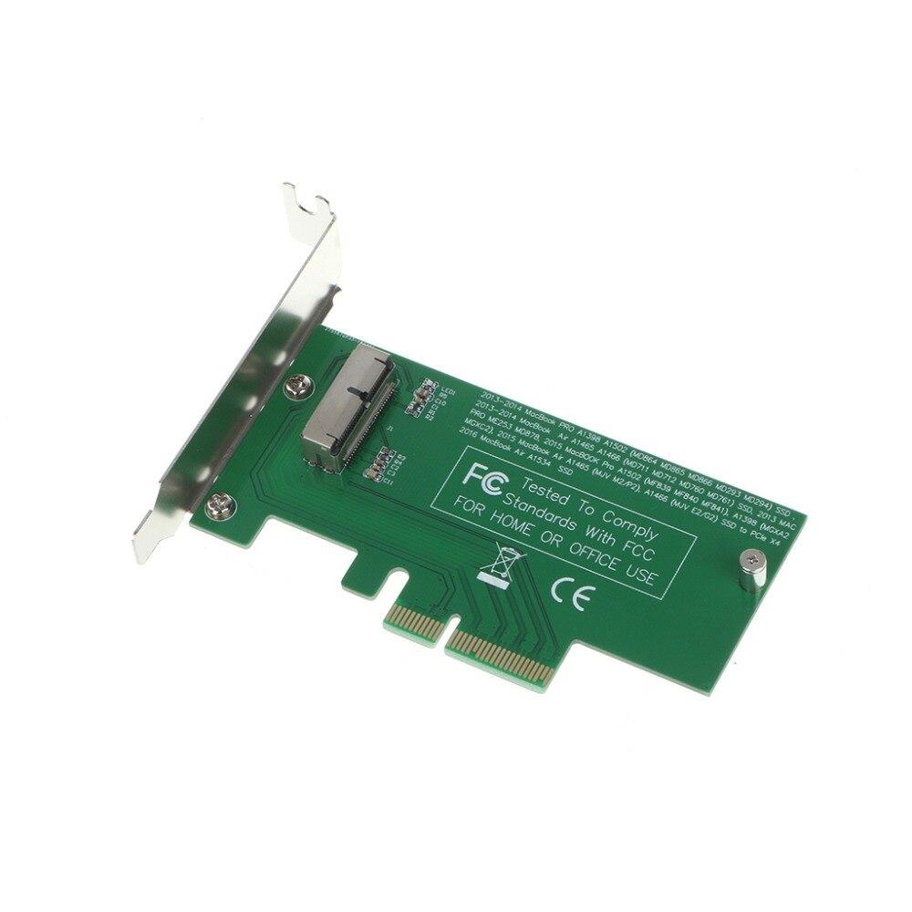 Tarjeta adaptadora a PCIe X4 para 2015 Apple MacBook Air A1465 Mac Pro MD878 ME253 SSD C26