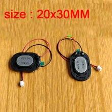 1 pièces x chien électronique enregistreur de conduite haut-parleur 20x30 MM 2pin fiche de câble pour voiture