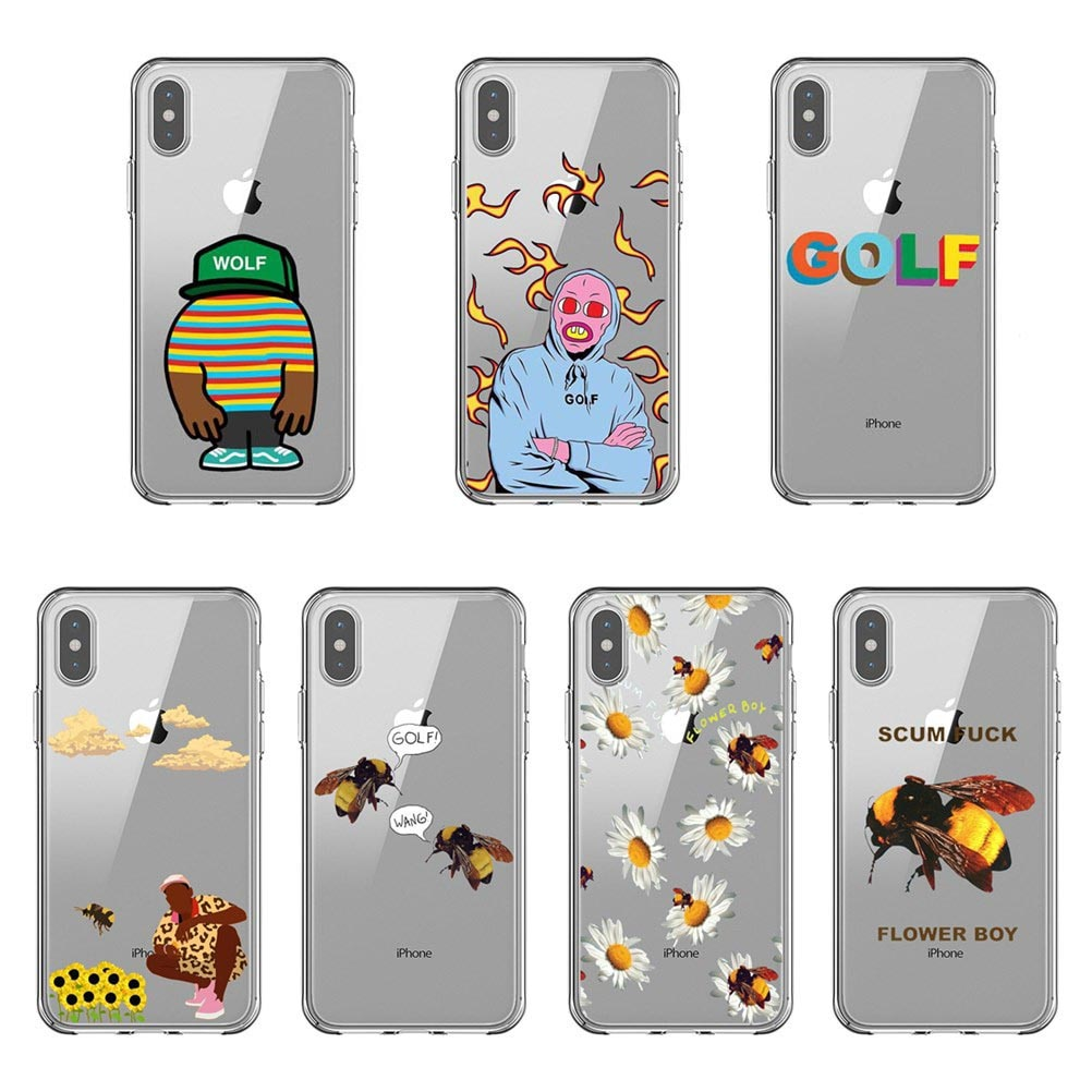 Golf Wang Tyler creador futuro extraño Santa Cruz, Santa Cruz de silicona suave funda de teléfono TPU para iPhone 11 Pro Max 2019 5S 7 8 Plus XS XR XS.