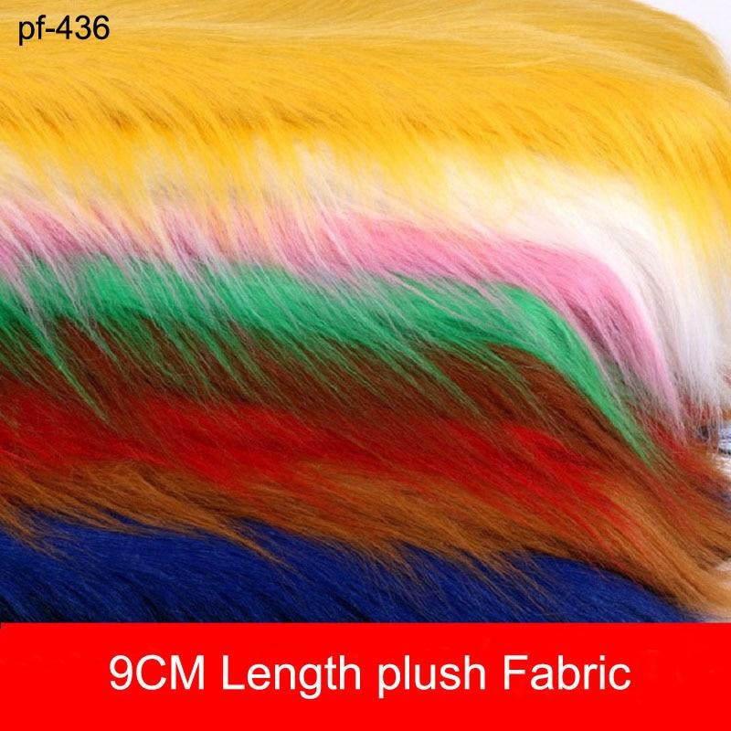 Pure plush cloth imitating fox hair carpet cloth jewelry mobile phone counter cloth cosplay Artificial fur