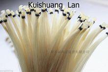 20 hanks высокое качество натуральный белый монгольский конский хвост скрипка Виолончель бант волосы бесплатная доставка