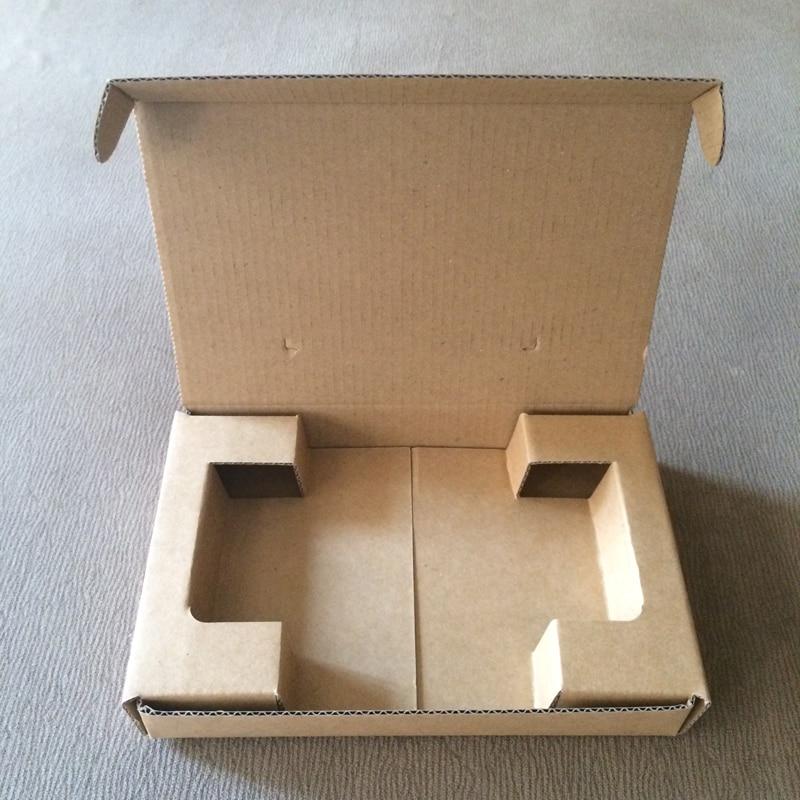 50 stück Größe 6,77x4,41x1,1 zoll 172x112x28mm Papier verpackung Aircraft box Verpackung fest Kraft Papier Geschenk Box Well papier