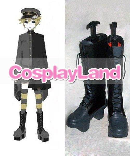 Botas personalizadas Vocaloid mil Cherry Tree Kagamine Len, zapatos para Cosplay, disfraz de Halloween, zapatos para Cosplay