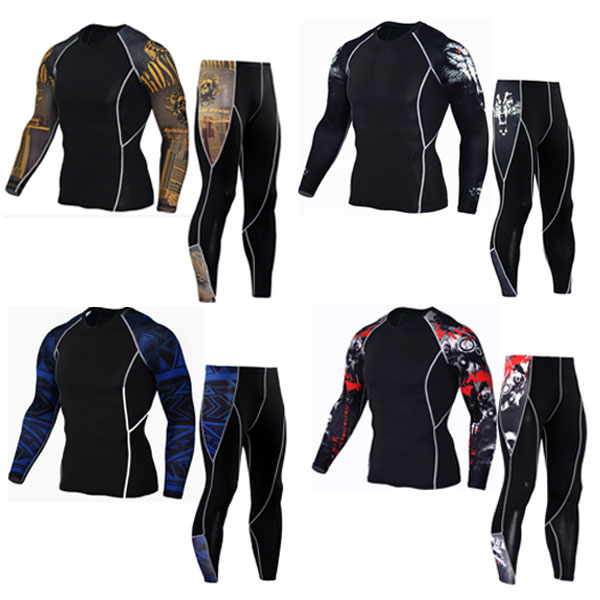 New Men Thermal Underwear Sets Compression Fleece Sweat Quick Drying Thermo Underwear Men Clothing Long Johns new mens boxers thermal underwear sets compression sweat quick drying thermo underwear men clothing long johns kits