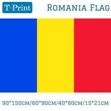 Rumänien Nationalen Flagge 90*150cm/60*90cm/40*60cm/15*21cm Banner Für Nationalen Tag Olympischen Spiele