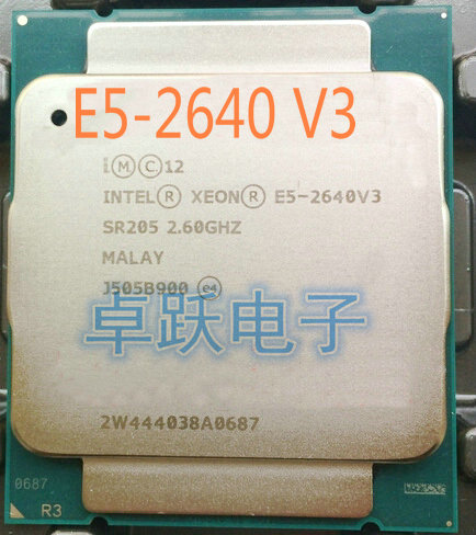 E5-2640V3 Original Intel Xeon OEM Version not es E5-2640 V3 2.60GHz 8-Core 20M LGA2011-3 90W E5-2640 V3 free shipping E5 2640 V3