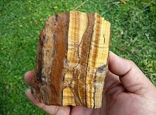 Spécimen en cristal œil de tigre naturel   Pierre de Quartz originale, 400-500g