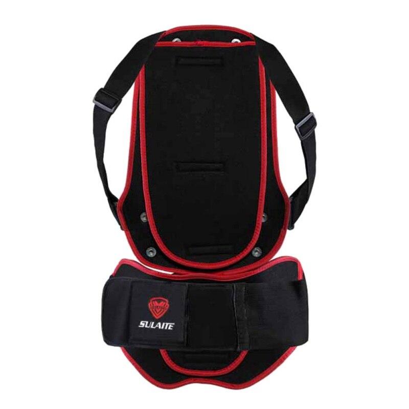 Protección trasera para deportes de exterior, senderismo, Adulto, Moto, ciclismo esquí, Espalda descubierta, Protector corporal de espina dorsal, esquí j2