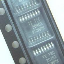 10PCS/Lot   TSC2046IPWR 2046I TSC2046I TSSOP16 Touch screen control chip  New original