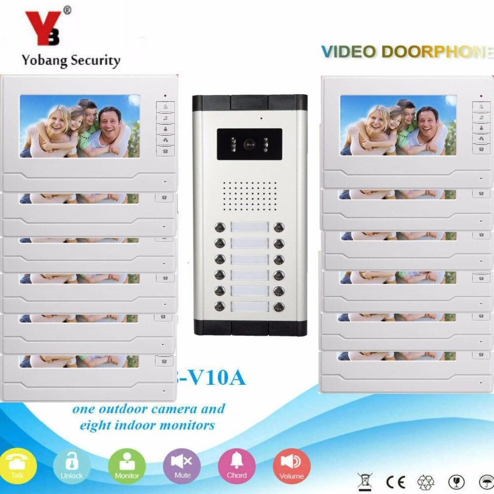 Yobang безопасность 12 единиц кнопки 7