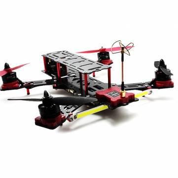 Dron profesional rc Nighthawk Pro 280mm cuadricóptero tamaño de marco de fibra de carbono y fibra de vidrio marco cuadricóptero profesional mezclado