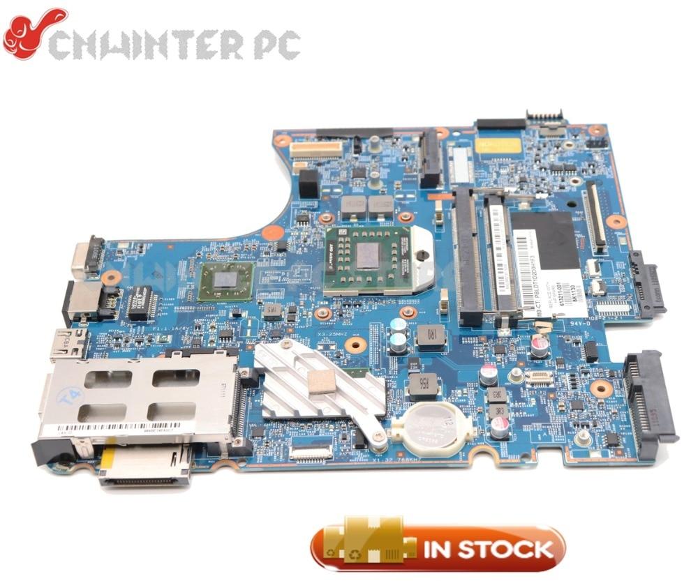 NOKOTION 613213-001 613211-001 48.4GJ02.011 ل HP Probook 4525s اللوحة المحمول المقبس S1 DDR3 شحن وحدة المعالجة المركزية