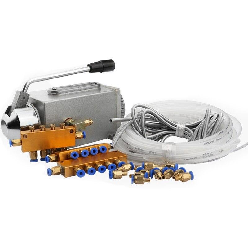 PQWN-مضخة تشحيم كهرومغناطيسية ، جهاز التوجيه باستخدام الحاسب الآلي ، جسم من الفولاذ المقاوم للصدأ ، مجموعة واحدة