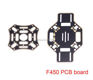 High quality F450 PCB Quadcopter Replacement Accessories Main Frame Top Upper / Bottom Lower Board Plate Centre Plate