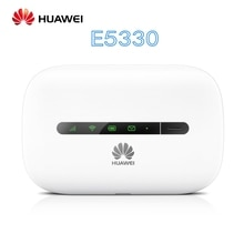 Desbloqueado HUAWEI E5330 21,6 Mbps móvil 3g router WiFi MiFi Hotspot wifi 3G dongle HSPA pk MF65M E5331 E5220 E5336