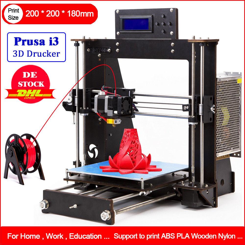 Impresora DE alta precisión 3D DIY i3 Upgradest Reprap Prusa 3d Drucker